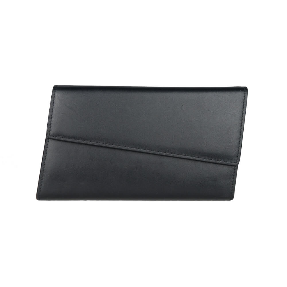 28fa006fd7c1d The Prism Black Leather Wallet - Ametrine The Label